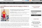 Jack Wilkerson Seeks Hernia Surgery in Seoul, S.Ko…